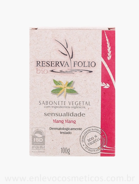 Sabonete Sensualidade Reserva Folio