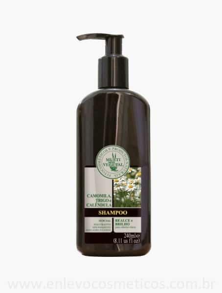 Shampoo Cabelos Claros Multi Vegetal