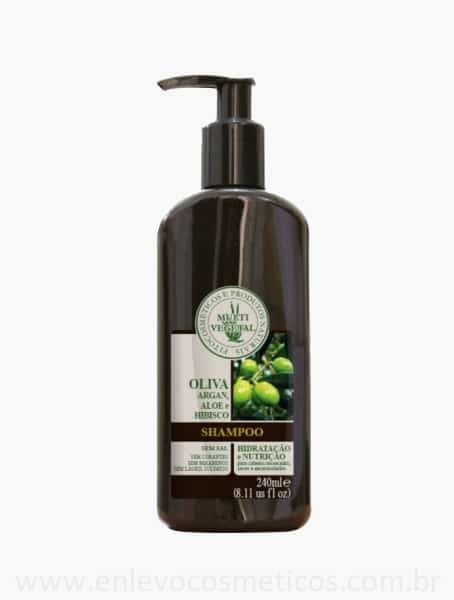 Shampoo Oliva Argan Multi Vegetal