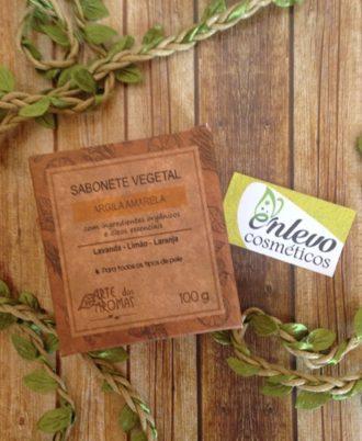 sabonete vegetal argila amarela