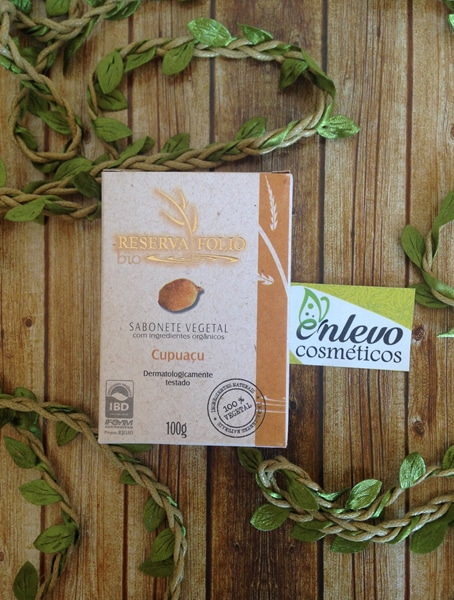 sabonete vegetal cupuaçu